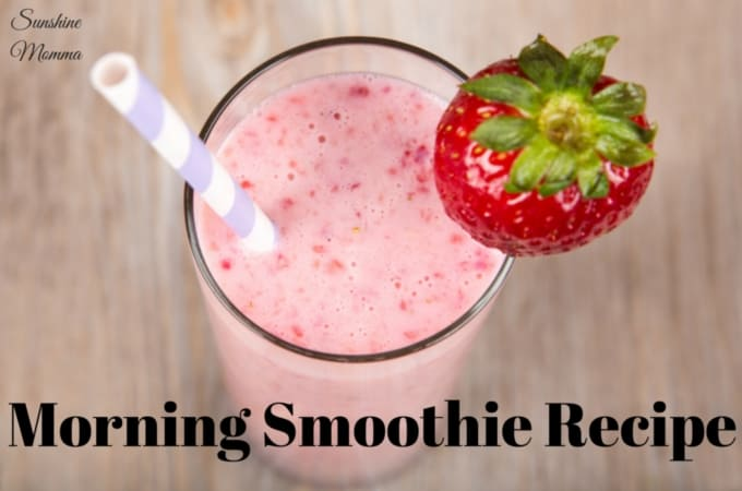 Morning Smoothie Recipe