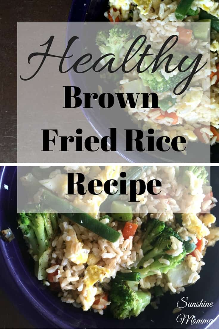 Healthy Brown Fried Rice Recipe