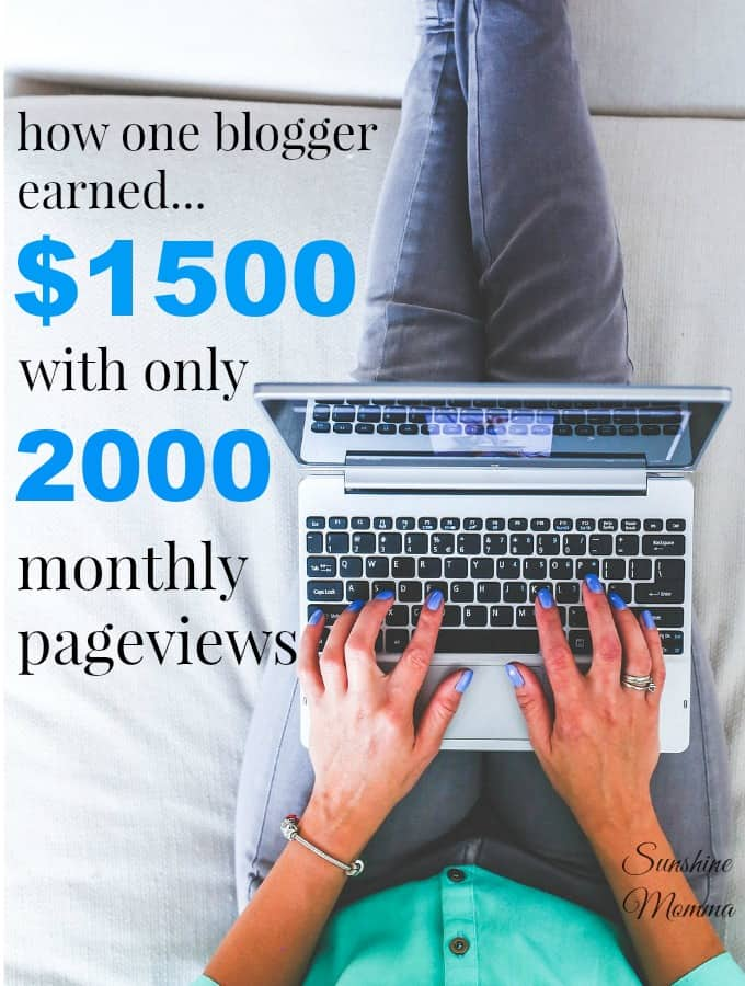 Earning Income as a Small Blogger