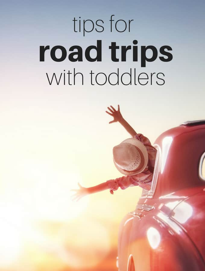 Tips for Taking Road Trips with Toddlers