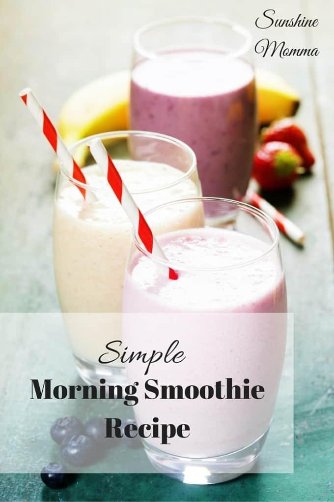 Morning Smoothie Recipe