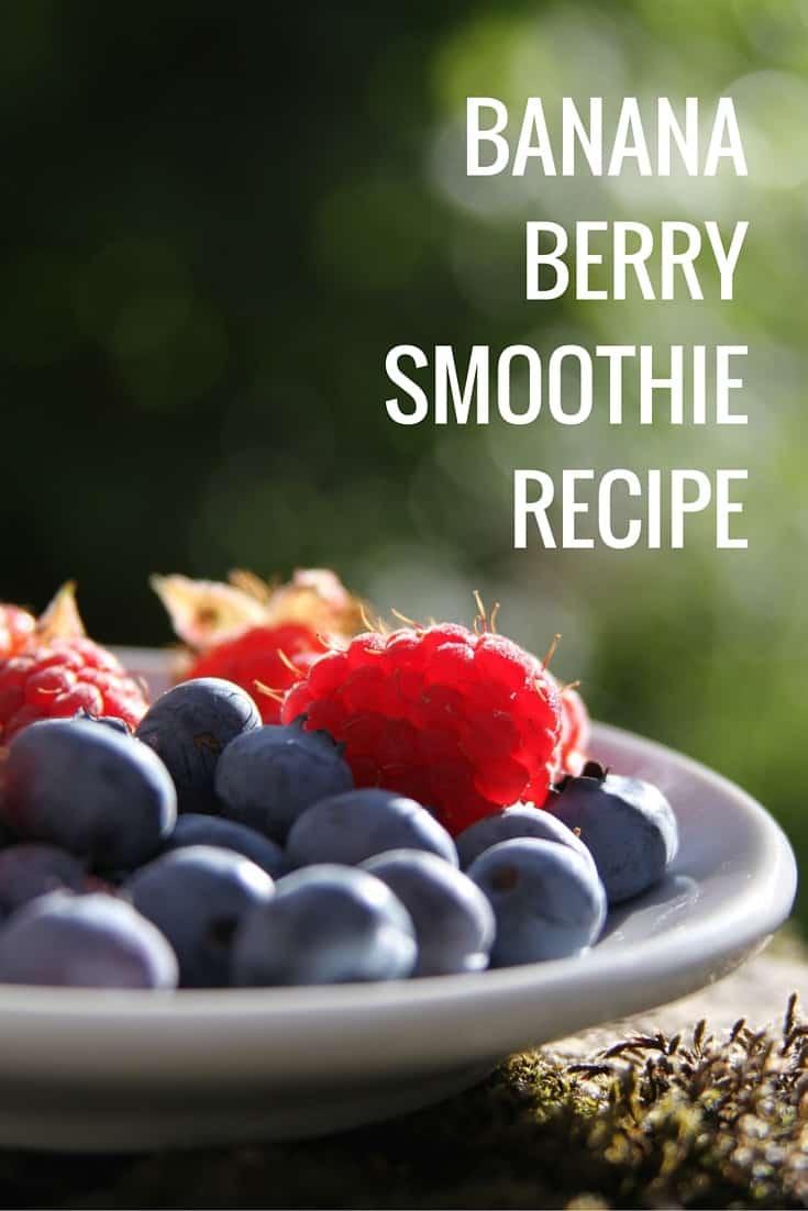 Banana Berry Smoothie Recipe