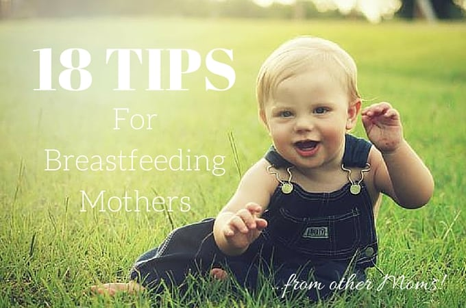18 Tips for Breastfeeding Mothers