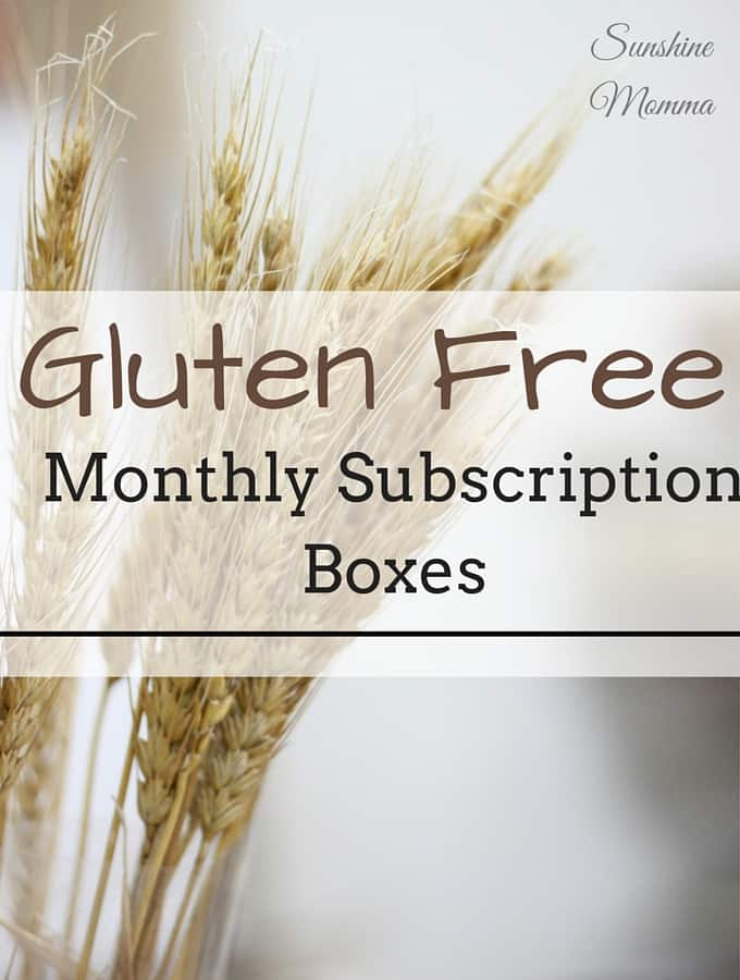 Gluten Free Subscription Boxes