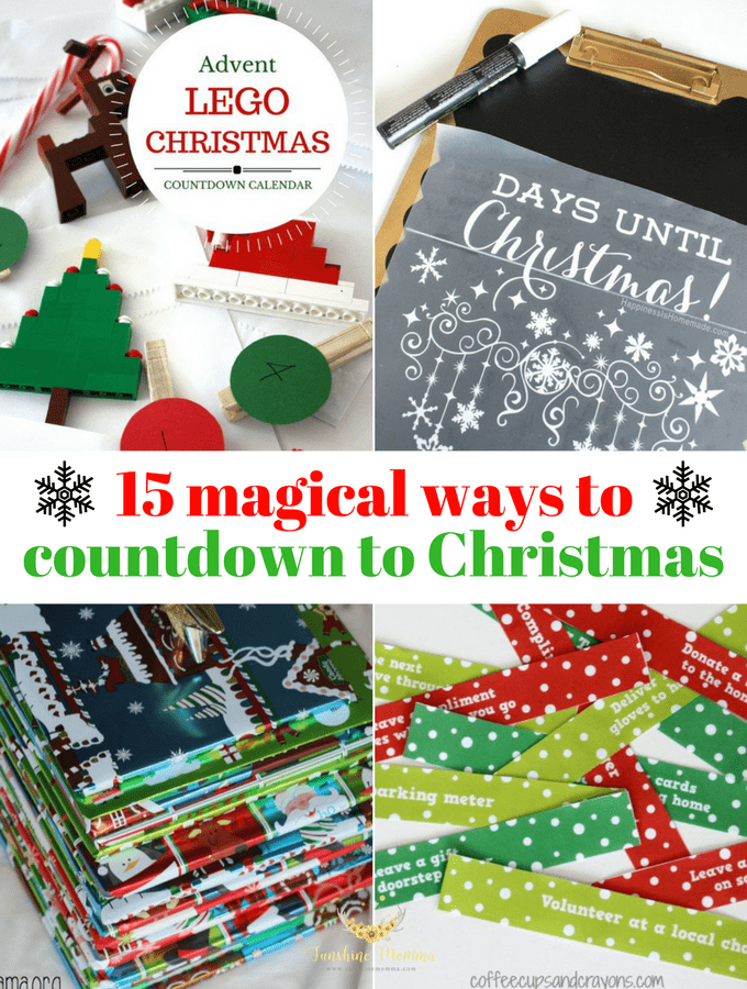 15 Magical Christmas Countdown Ideas