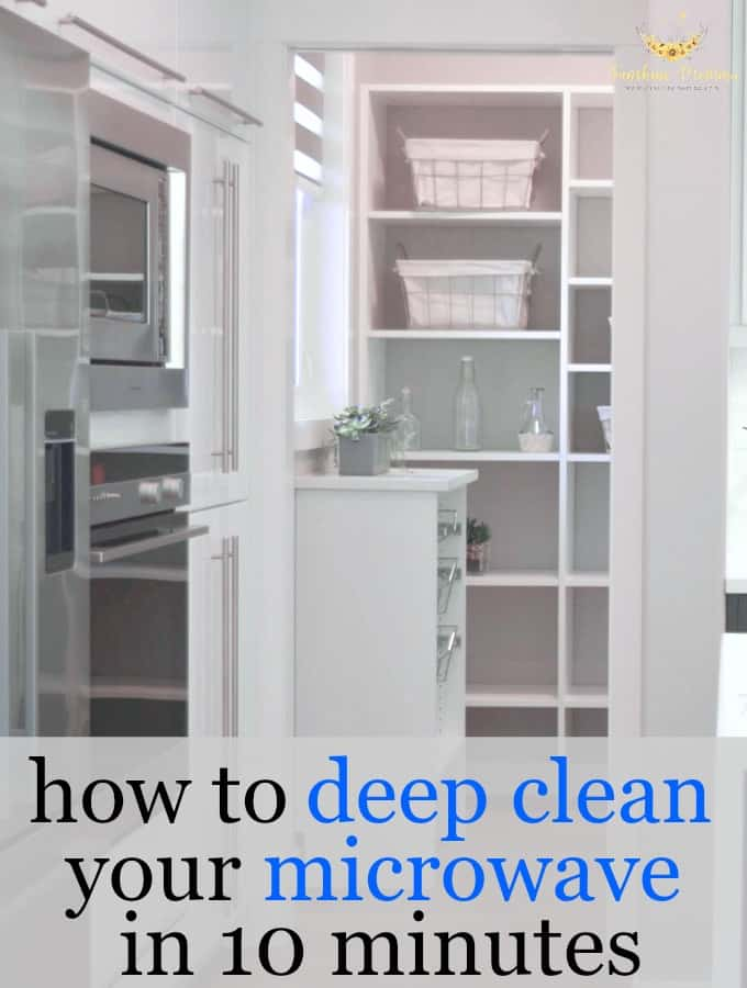 The Easiest Way to Deep Clean Your Microwave