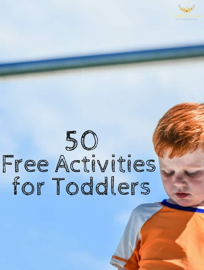 50 Free Activities for Toddlers