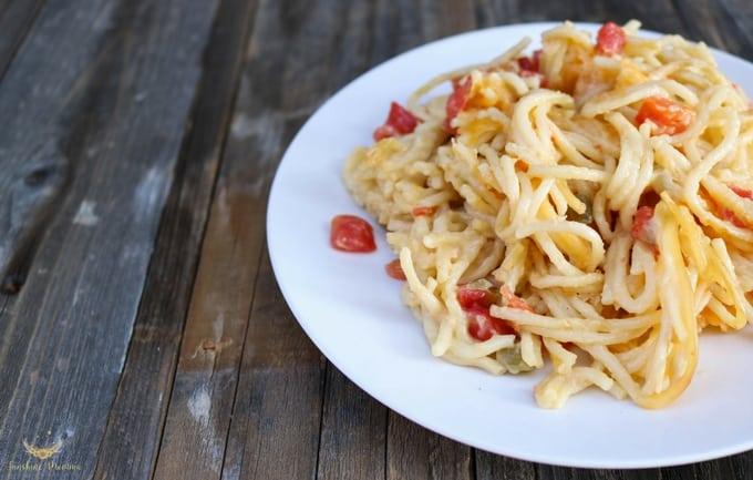 Texas Chicken Spaghetti Recipe