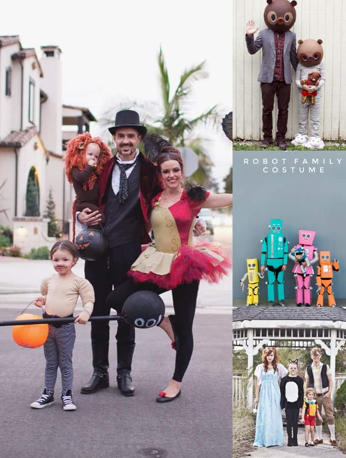 Halloween Costumes for Families