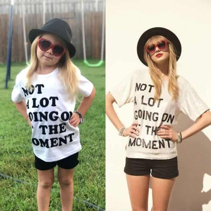 "DIY Taylor Swift ""22"" Halloween Costume"