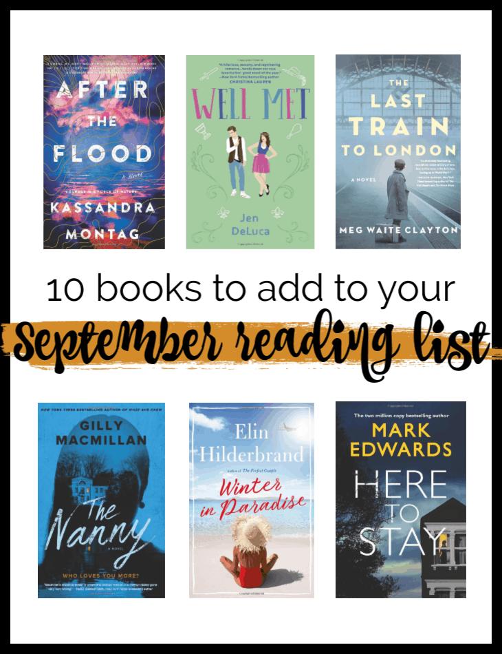 September Must Reads