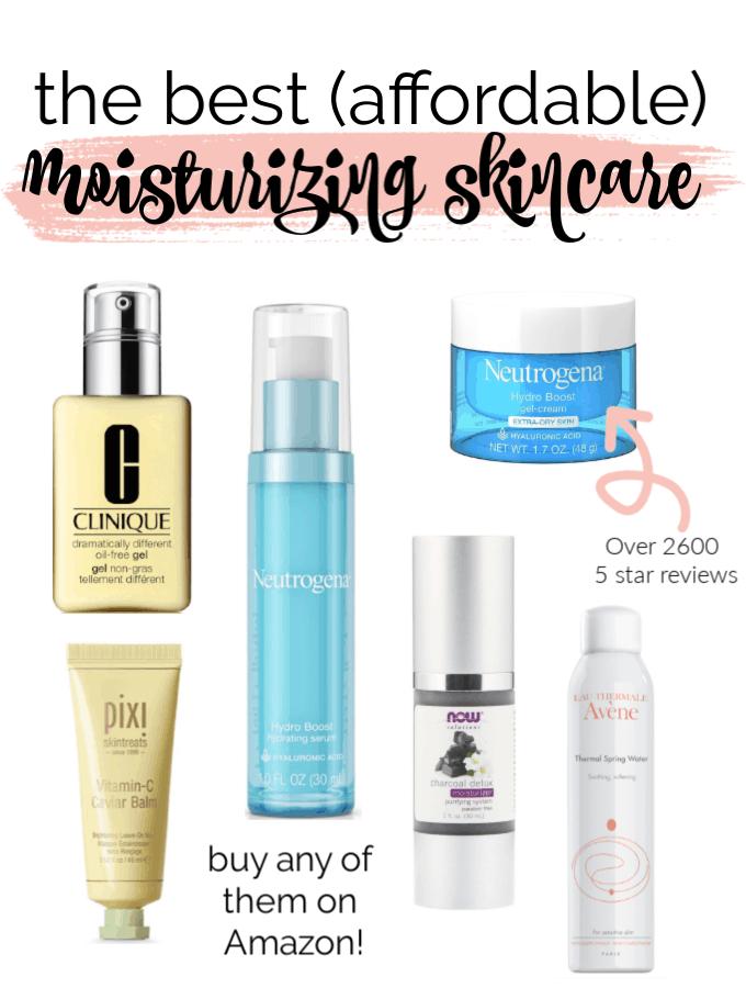 The Best (Affordable) Moisturizing Skincare