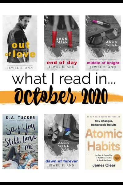 What I read in October 2020